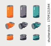 metal can for drinks. aluminum...   Shutterstock .eps vector #1709121544