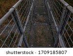 Suspension Bridge Walkway Seen...