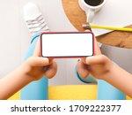 3d illustration. cartoon hand... | Shutterstock . vector #1709222377