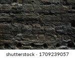 grungy coarse aged stonework... | Shutterstock . vector #1709239057
