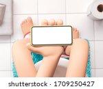 3d illustration. cartoon hand... | Shutterstock . vector #1709250427
