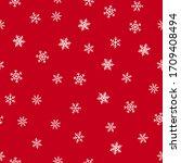 Snowflakes Seamless Pattern....