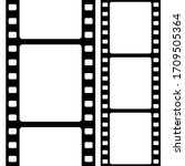vintage film strip in black and ...   Shutterstock .eps vector #1709505364