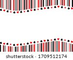 trump card pattern and striped...
