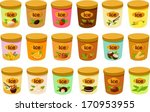 vector illustration of various... | Shutterstock .eps vector #170953955