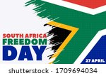 south africa freedom day ... | Shutterstock .eps vector #1709694034