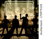group of silouette people... | Shutterstock . vector #170975135