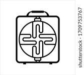 heater icon  heater vector art... | Shutterstock .eps vector #1709753767