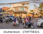 Siem Reap  Cambodia   February...