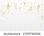 explosions of confetti...   Shutterstock .eps vector #1709760334
