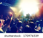 a crowd of people at a concert  ... | Shutterstock . vector #170976539