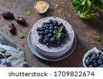 Round Blueberry Vegan...