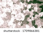 Black Camouflage. Watercolour Camo Illustration. Grey Army Fabric. Brown Abstract Woodland Design. Black Camouflage. Dark Camo War Uniform. Dark Camo Wallpaper. Hunter Black Camouflage. - stock photo