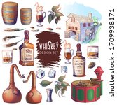 Whiskey Related Design Elements ...