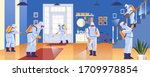 home disinfection by commercial ... | Shutterstock .eps vector #1709978854