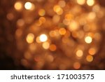 abstract blurred circular bokeh ... | Shutterstock . vector #171003575