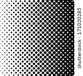 vector halftone dots | Shutterstock .eps vector #171020285