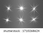 white sparks glitter special... | Shutterstock .eps vector #1710268624