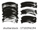 flat paint brush thin curved... | Shutterstock .eps vector #1710296194