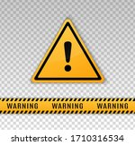 warning caution board to... | Shutterstock .eps vector #1710316534