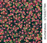 seamless ditsy pattern in small ...   Shutterstock .eps vector #1710327784