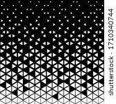triangular geometric pattern.... | Shutterstock .eps vector #1710340744