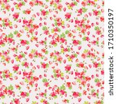 seamless ditsy pattern in small ...   Shutterstock .eps vector #1710350197