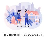 house for sale. real estate...   Shutterstock .eps vector #1710371674