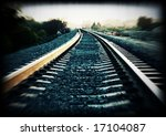 Cross Processed Train Track...