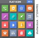 vector application office icons ...
