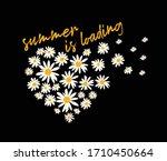 Girl Slogan Summer Print Love