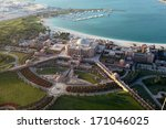 aerial view of the emirates... | Shutterstock . vector #171046025