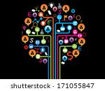 office and business concept | Shutterstock .eps vector #171055847