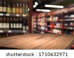 Supermarket Background  Counte...