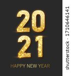 happy new year 2021 banner... | Shutterstock .eps vector #1710646141