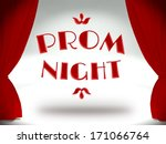 Prom Night On Theater Stage...