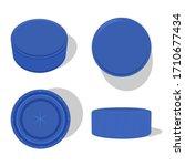 plastic bottle cap vector...   Shutterstock .eps vector #1710677434