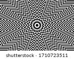 black and white 18 pointed star ...   Shutterstock .eps vector #1710723511