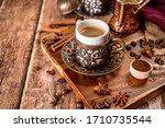 Traditional Turkish Coffee Cup...