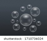 set of realistic colorful soap... | Shutterstock .eps vector #1710736024