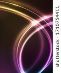 abstract vector background with ... | Shutterstock .eps vector #1710754411