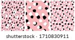 simple freehand spots seamless... | Shutterstock .eps vector #1710830911