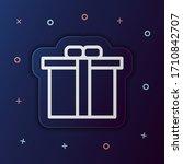 gift box nolan button icon....