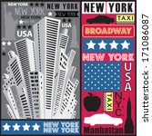 New York Skyscraper Vector...
