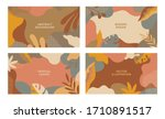 Set Of Vector Abstract Summer...