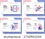 set of illustration social...   Shutterstock .eps vector #1710901534