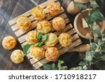 Homemade Savory Muffins With...