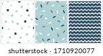 marine style seamless vector... | Shutterstock .eps vector #1710920077