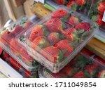 Fresh Organic Strawberries In...