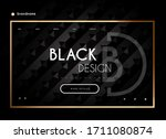 web page design  landing page...   Shutterstock .eps vector #1711080874
